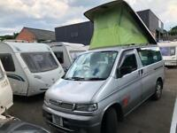 MAZDA BONGO CAMPERVAN DAY VAN POP TOP ROOF
