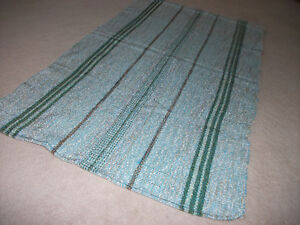 "tapis tisse/handwoven carpet 25.5"" by 45"""
