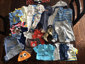 Gently used boys 3-6mth clothes and snowsuit Windsor Region Ontario image 2