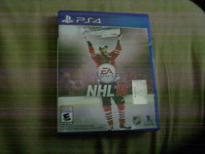 PS4 NHL 2016 Game Used