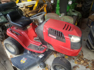 "Craftsman 19 hp 42"" cut mower"
