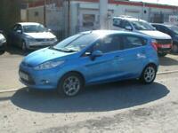 2012 Ford Fiesta ZETEC Automatic 5Door Hatchback Petrol Automatic