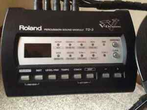 Excellent-Condition, Rolland Electronic TD-3 V-drum Kitchener / Waterloo Kitchener Area image 3