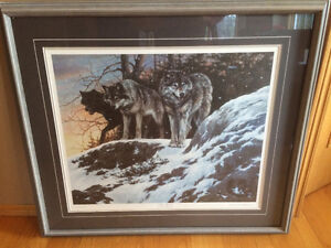 Large Ducks Unlimited wolf print