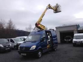 Mercedes-Benz Sprinter hydraulic lift 511CDi MWB 12.9 meters