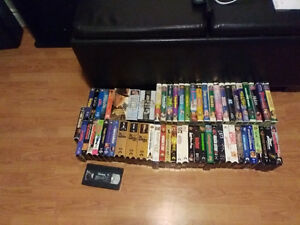 VHS Movies For Sale - $2 Each