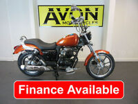 Lexmoto Michigan 125 - 125cc Custom Cruiser Chopper Motorcycle *FINANCE*