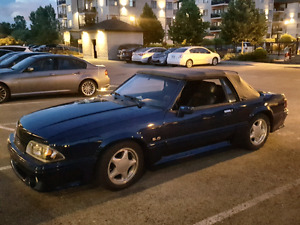 Mustang decapotable 1988