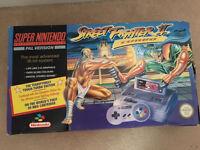 Super Nintendo & 2 controllers