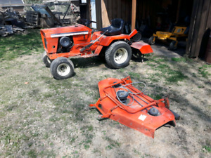 Allis Chamber Tractor with Tiller