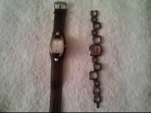 (2) Fossil Watches - Ladies $25 ea or $40 for both