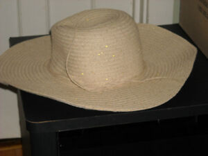 FOR SALE:Floppy  Sunhat with Sparkle  NEW  New Price!!