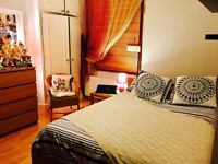Big single room with double bed to rent