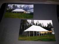WHITE WEDDING TENT/EVENT TENT