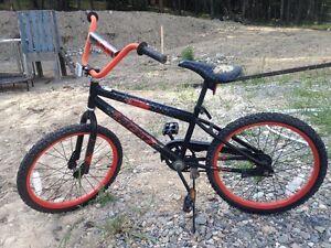 Huffy black & orange Pedal Bike