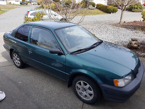 1997 Toyota Tercel Coupe (2 door)