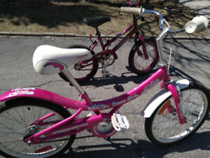 2 Kids Bikes / will trade for Adult bike or Gaming console.