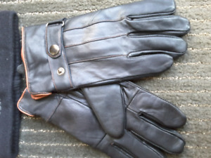 Brand new leather gloves $5 or hat $5