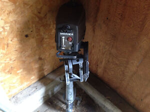 2.5hp Mariner outboard $400