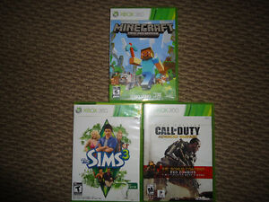 Various Xbox 360 Games (in cases)