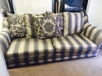 As new 2/3 seater sofa
