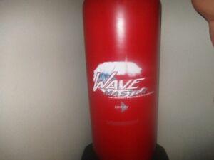 Wave master punching bag ajustable autoportant