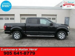 2015 Ford F-150 XLT  4X4 CREW SPORT FX4 CHROME NAVI PANORAMIC RO