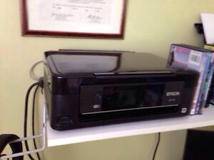 Wifi printer and scanner