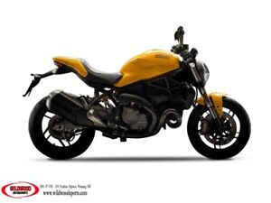 2018 Ducati Monster 821 Ducati Yellow