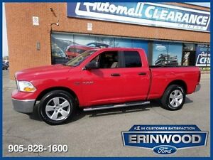 "2010 Dodge Ram 1500 SLT4x4 Quad Cab / Bluetooth / 20"" Wheels"