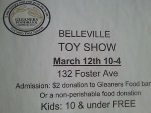 Belleville TOYSHOW march 12th