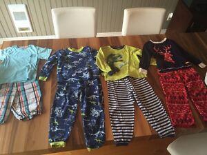 Lot 4 pyjamas garçon