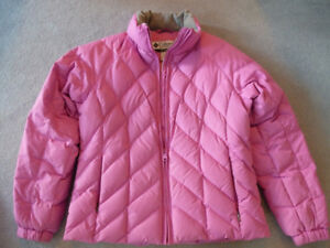 Columbia Winter Down-filled Jacket, Womens, Pink, M 8-10, NEW