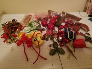 Vintage Christmas Ornaments/Decorations/Crafts