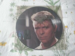"""Picture Disc Vinyl DAVID BOWIE 12"""" 1984 USA Import-Still Sealed"""