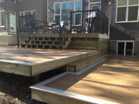 Custom Decks and Fences by Chapco Landscaping Construction