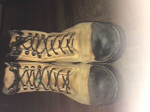 Woman's Steel toe CSA approved Boots