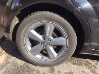 X4 Ford Focus alloy wheels 16 inch