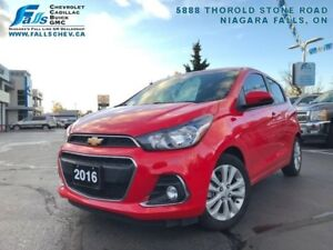 """2016 Chevrolet Spark LT  REARCAM,7""""DISPLAY,ONE OWNER,NO ACCIDENT"""