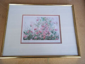 "Framed print by Canadian Artist Nancy O'Toole named ""Rhapsody"""