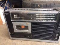 Battery Pye radio cassette