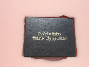 The English Heritage Miniature Toby Mug collection