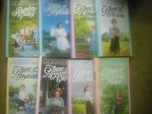 The complete Anne of Green Gables 8 volume Set