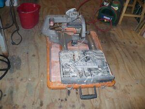 Rigid wet saw