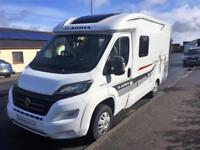 Adria Compact SP Plus, Fixed bed over large garage, 3 berth packed with extras