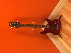 LTD Electric Guitar and Line 6 Amp