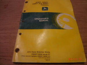 John deere tractor manuals London Ontario image 2