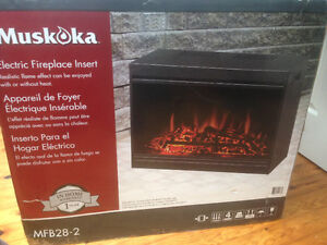 Fireplace electric insert, inferred and other heaters