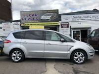 2010 FORD S-MAX 2.0 ECOBOOST(200)POWERSHIFT TITANIUM (AA)12 MONTH WARRANTY INCL