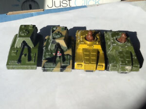 Vintage matchbox army vehicle's lot